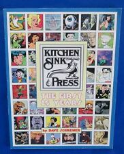 1994 KITCHEN SINK PRESS 25 YEARS by Dave Schreiner SC VNM Robert Crumb