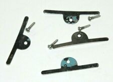 Ground Glass Retaining Clips-Set Of 4 Includes Screws-Vintage