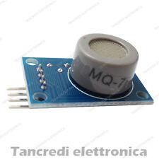 Modulo MQ-7 sensore monossido di carbonio CO carbon monoxide shield arduino