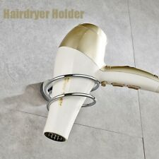 Wall Mounted Hair Dryer Stand Bathroom Hotel Shelves Shelf Storage Hairdryer.