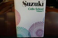 Suzuki Cello School Cello Part & Piano Accompaniment Volume 9 (Book only)
