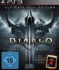 Playstation 3 Diablo 3 + III Reaper of Souls Ultimate Evil Edition Neuwertig