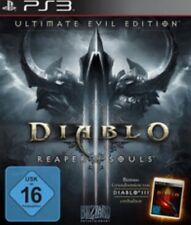 Playstation 3 Diablo 3 + III Reaper of Souls Ultimate Evil Edition Neuwertig