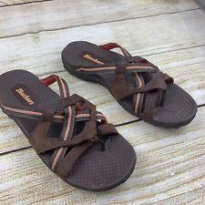 Skechers Women's Reggae Soundstage Strappy Flip Flop Thong 46720 Sandals 11 M US