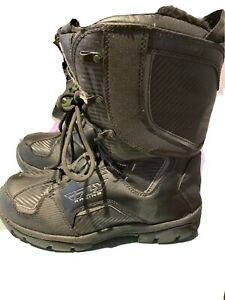 fly racing snowmobile boots  size 12 mens in good condition