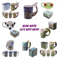 MUGS - GIFTS - MUG - FISH - GIFTS - ANIMAL - BIRTHDAY - NEW - BOXED - XMAS GIFTS