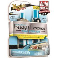 Meguiars G2000EU Two Step Headlight Headlamp Restoration Kit Car Care Cleaning