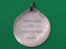 More details for silver reward of industry 1834 medal , mrs kemp , seminary  (4499)