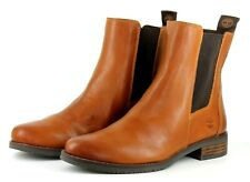 Timberland Venice Park Womens UK 8 EU 41.5 Brown Leather Chelsea Ankle Boots