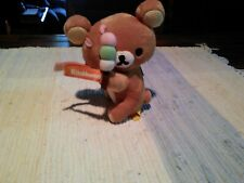 San-X Rilakkuma Rare with strap. Total height 6 inches