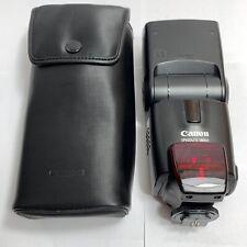 Canon 580EX Speedlite Flash