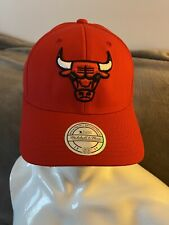 Mitchell & Ness NBA Red Chicago Bulls Basketball Cap