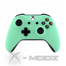 XBOX ONE CUSTOM CONTROLLER - Minty Green - Soft Touch - X-Mods
