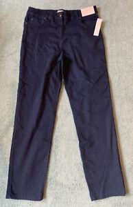 Brand New & Tags Matalan Soon, Dark Blue Straight Leg Lift & Curve Jeans Size 14