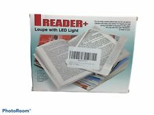 Battery Large  LED Page Magnifier Book Reader  LEDs Lights magnifies