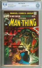 MAN-THING #4 CBCS 9.6 WHITE PAGES