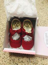Angel Shoe Velvet Bow Mary Jane Toddler 6