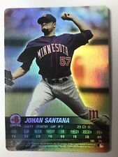 2005 MLB Showdown Johan Santana Foil #195 Minnesota Twins