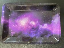 """Rolling Tray """"Purple Nebula"""" 5"""" x 7"""