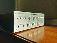 Vintage Marantz 1060 Integrated Amplifier Demo video available