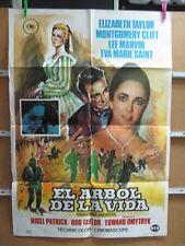 2498       EL ARBOL DE LA VIDA ELIZABETH TAYLOR MONTGOMERY CLIFT