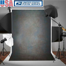 5x7Ft Vinyl Black Grey Retro Photo Backdrop Photography Backgrounds Studio Decor