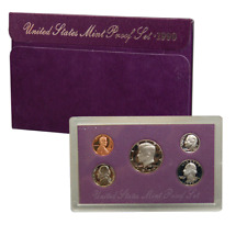 1990 S US Mint Proof Coin Set