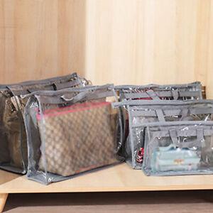 Womens Dust-proof Storage Bag&Purse Handbag Dust Cover Clear Organizer Protector