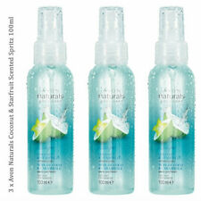 3 x Avon Naturals Coconut & Starfruit Scented Spritz Body & Room Mist 100ml