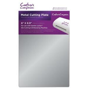 "Crafter's Companion Gemini Junior Metal Cutting Plate 6""X9"" GEMJR-ACC-METP"