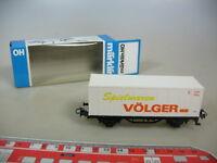 M479-0,5# Märklin/Marklin H0 Containerwagen, Spielwaren Völger, DB, TOP+OVP