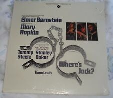 WHERE'S JACK? (Elmer Bernstein) rare original sealed stereo lp (1969)