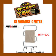 Heller 70W Freestanding Chrome Heated Towel Rail HTR102C FREE SHIPPING