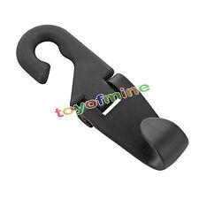 Portable Car Seat Headrest Coat Hook Purse Bag Hanging Hanger Organizer Holder