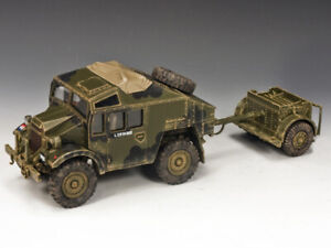 MIB King & Country Morris C8 Field Artillery Tractor & Limber D-Day DD202