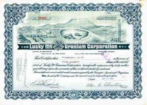 Original Historical Share Certificates; colour engraved on parchment