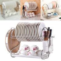 Égouttoir à vaisselle Couverts pour assèchement sec Assiettes-Rangement Cuisine