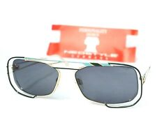 NEOSTYLE sunglasses monza JET 222 vintage gold gray emerald green unusual