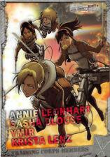 Attack on Titan Shingeki no Kyojin Clear Plate Visual Art Bromide 4 Type 4 Annie
