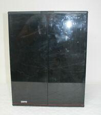 LASERLINE CD6000 Compact Disc CD Storage Rack doors holds 60