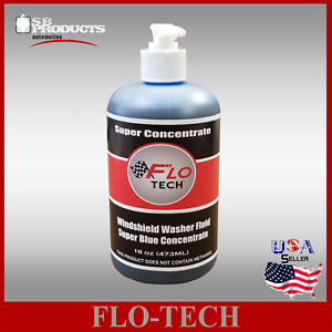 FLO-TECH 16OZ BLUE(SUPER CONCENTRATE)   CAR WINDSHIELD WASHER FLUID MAKES 100GAL