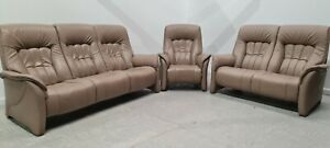 Himolla Rhine Leather 3 & 2 seater Non Recliner & Electric chair recliner 210213