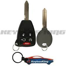 Remote Start Key Fob Keyless Entry Set 5btn for 2006-2007 Jeep Grand Cherokee