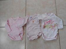 lot 3 boddy pr bébé naissance ou reborn,baigneur françois,nano,colin 48cm