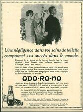 Publicité ancienne produit de beauté Odo-Ro-No 1925 issue de magazine