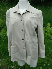 Vtg. Tilley Endurables classic travel work leisure Safari style Jacket Blazer M