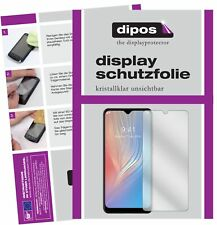 5x Schutzfolie für HTC Wildfire X Display Folie klar Displayschutzfolie