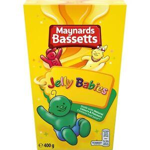 Maynards Bassetts Jelly Babies Carton 400g