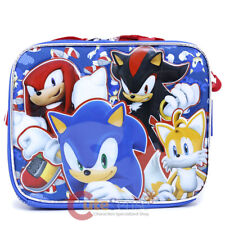 Sonic School Lunch Bag Insulated Snack Box Tails Knuckles Shadow Sonic Sub