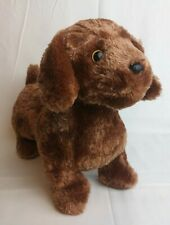 "TY Classic  - FRANK the Daschund Dog  13"" - Brown plush  2011"